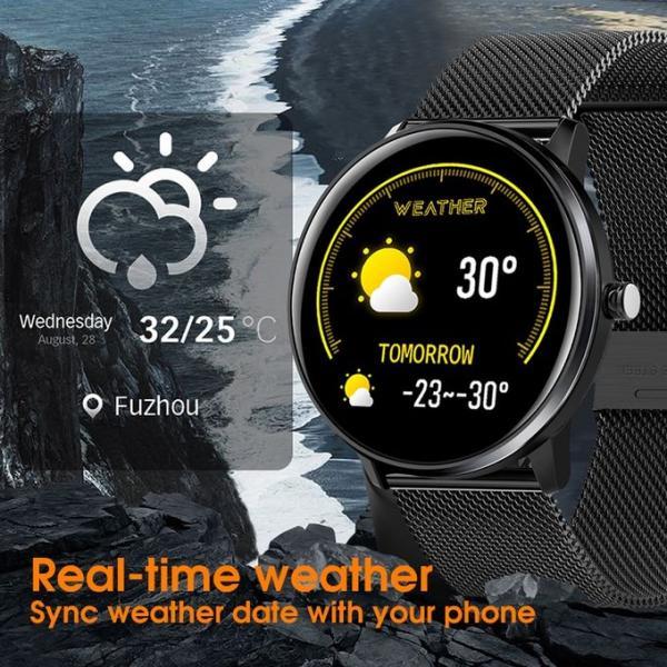 Yaraşıqlı Orijinal sukeçirməz MX6 smart saatı. Kişi və qadın üçün.