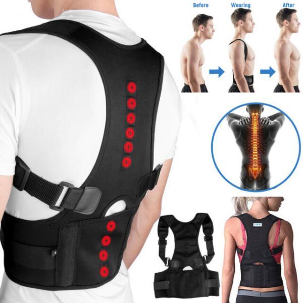 Qamətin maqnit koreksiyası üçün nəzərdə tutulan - Power Magnetic Posture Support ( Premium )