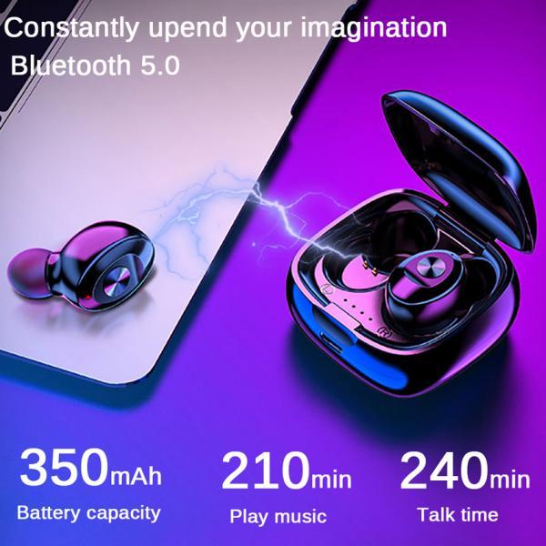 XG12 TWS Bluetooth 5.0 simsiz stereo qulaqlıqları su keçirdməz