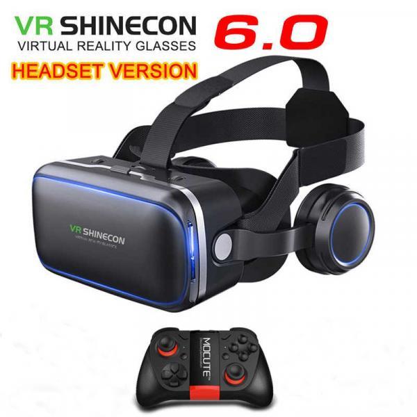 Virtual reallıq eynəyi VR Shinecon 6.0, Əla keyfiyyət.  İndi sifariş edin S9 Wireless Controller pult Hədiyyə qazanın.