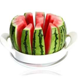 Qarpızın, yemişin, ananasın, meyvələrin və tortların kəsməsi üçün bıçaq - Perfect Slicer