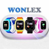 Uşaqlar üçün sensorlu Ağıllı saat - GPS izləyicili, telefon və SOS düyməli. SMART BABY WATCH  Wonlex GW100
