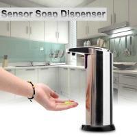 Sensorlu sabun, şampun, krem qabı Soap Magic (xromlu)