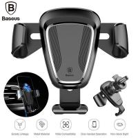 BASEUS Gravity Car Mount Leather Type (SUYL-B01) Avtomobil üçün tutacaq