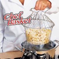 Yeməklərin hazırlanması üçün setka Chef Basket